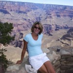 Lori in Grand Canyon